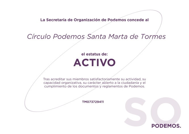 Certificado Circulo Activo