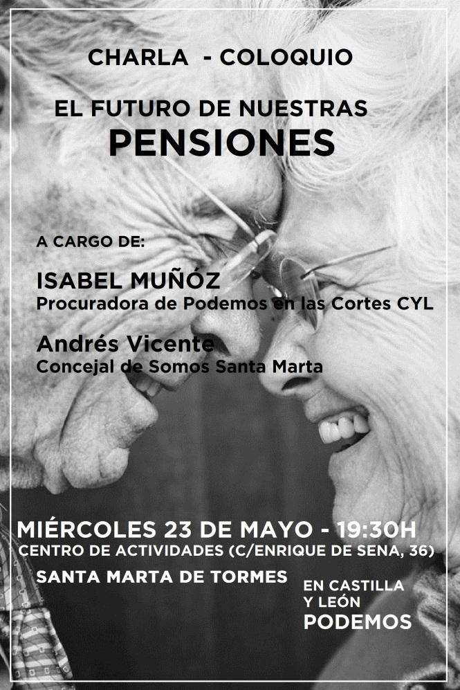 cartel Podemos Santa Marta