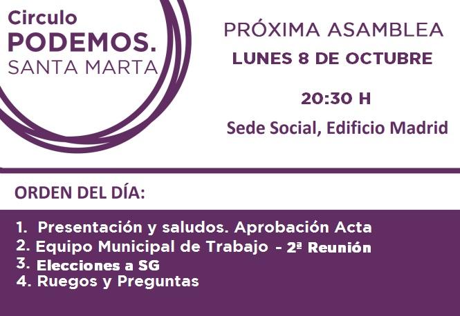 asamblea octubre 2018